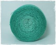 Emerald* Merino silk Gradient Yarn hand dyed - Lace weight