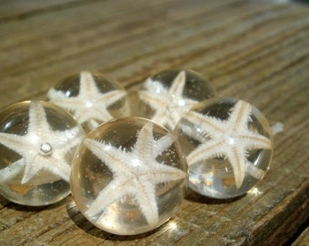 Beads Resin with Seastar set of 5.