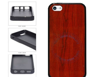 Detailed Cherrywood Phone Case - iPhone 4 4s 5 5s 5c 6 6s 6 Plus 7 6s Plus iPod Touch