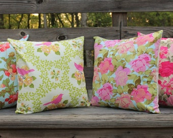 Floral Print pillow covers