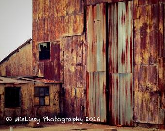 Abandoned Doors Photograph - Digital Download