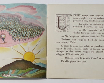 Histoire de Perlette Goutte d'Eau - Album du Pere Castor  by Marie Colmont - Flammarion 1936