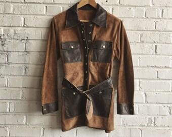Saturday Night Special vintage suede jacket