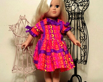 """American Girl Doll Clothes, 18 inch doll clothes,  Madame Alexander Doll Clothes, Doll Dresses, Doll outfits, 18"""" doll clothes,"""