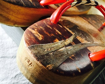 Vintage Japanese Sandles (Getas) RARE