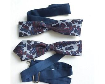 Thin bowtie for men
