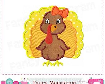 Turkey applique,Turkey design,Turkey embroidery,Thanksgiving design,Thanksgiving applique,Thanksgiving Turkey,Girl applique.