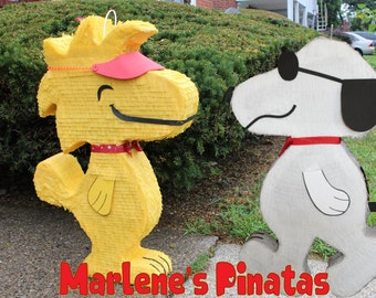 Snoopy or Woodstock pinatas...!