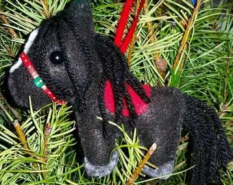 BubbleLu™ Christmas Pony Plushie or Ornament