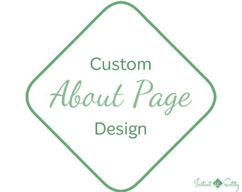 Custom About Page Design | About Us Web Page | About Us Page Design | Learn More About | Our Team Page | About Us Page Template