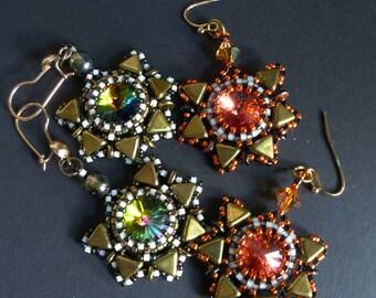TUTORIAL - Aztek Treasure Earrings