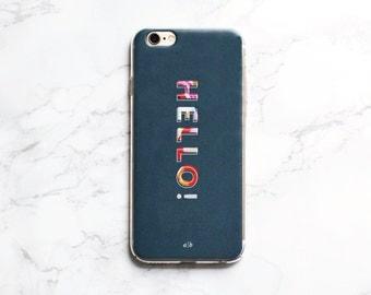 Hello Phone Case   iPhone 6/6s iPhone 6/6s Plus iPhone 7