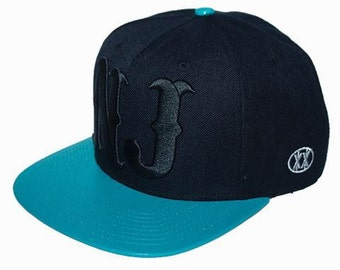New jersey hat Baby blue