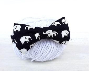 Baby bow tie, elephant bow tie, boys bow tie, kid's elephant bow tie, boys photo prop, baby Papillon, newborn butterfly