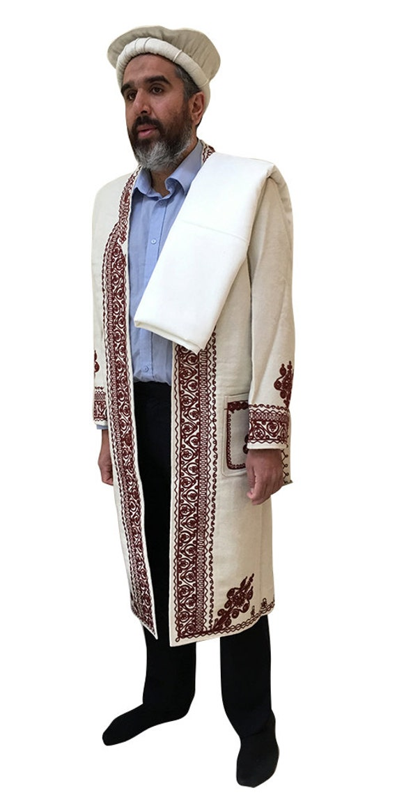 Hand Made Afghan Chitral Over Coat Winter Chugha Pakol Patu