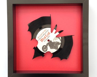 Meat Loaf 'Bat Out Of Hell' Vinyl Record Art