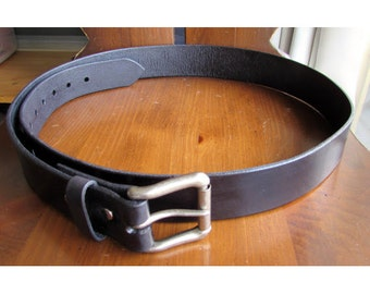 Leather Belt, Handmade for Quality & Longevity