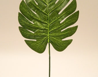 Split Philodendron Leaf - 17''  Tall