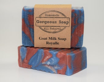 Royalle Goat Milk Soap - All Natural Soap, Handmade Soap, Homemade Soap, Handcrafted Soap