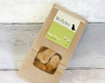Handbaked Dog Biscuit - Apple with Fresh Mint