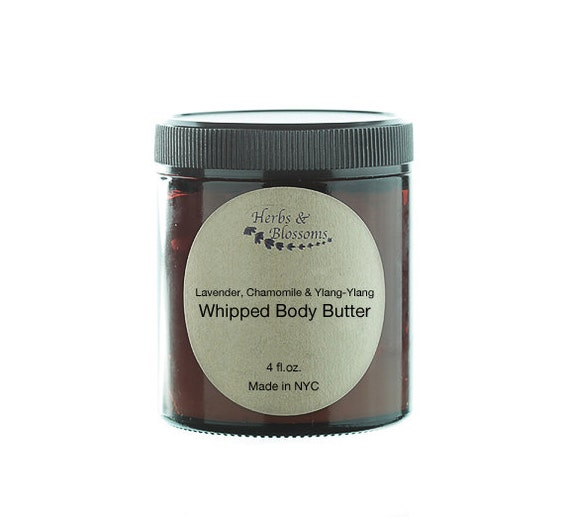 Lavender, Chamomile & Ylang-Ylang Whipped Body Butter