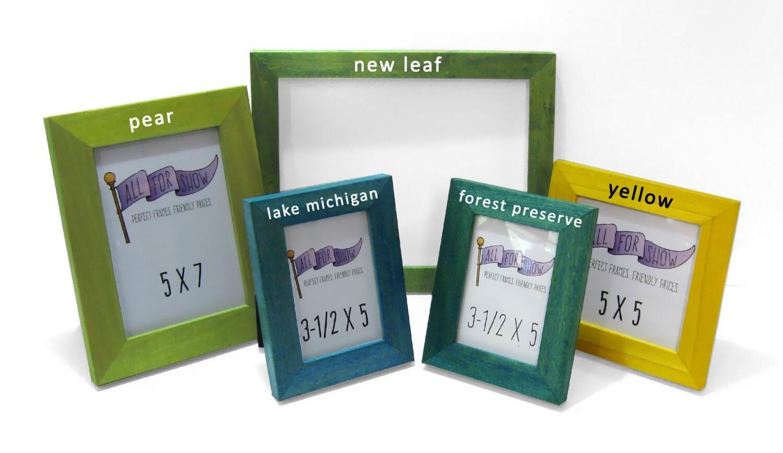 8x10 Frame, Custom Frame, 8x10 Picture Frame, Choose-A-Color, Custom ...
