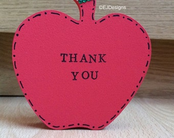 Teacher's Thank you Apple, teacher gift