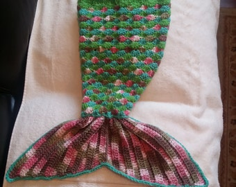 Baby Crochet  Marmeid  Tail