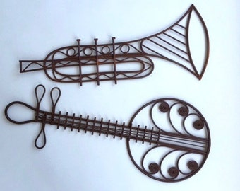 Wonderful Whimsical Wicker Musical Instruments