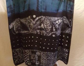 Batik tie dye batik - Free size