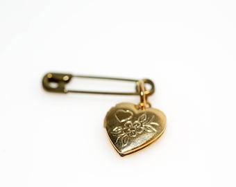 Heart Locket Pin