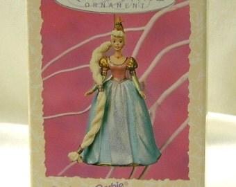 Hallmark Keepsake Barbie Ornament - Rapunzel Barbie Collection - 1st. in Series - NIB