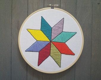 Blazing Star Quilt Etsy