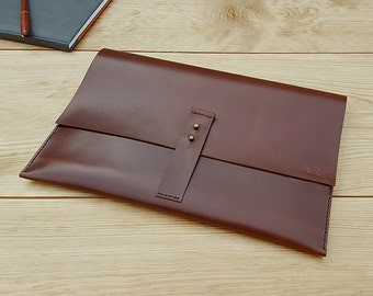 Brown Leather MacBook Case 12 13 inch MacBook Pro Case Leather MacBook Air Case New MacBook Case Leather Laptop Holder