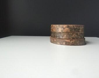 Modern Birch Wood Coasters