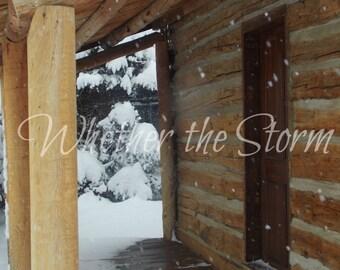Let it Snow - Fine art print Home decor