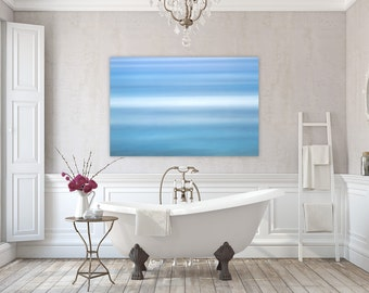 Aqua ~ East Matunuck, Abstract, Canvas, Wall Art, Photography, Interior Decor, Coastal Decor, Joules, Artwork, Blue, Aqua, Waves, Ocean, Art