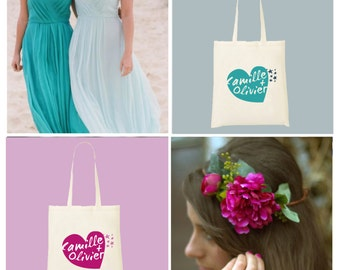 Tote bag wedding