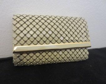 Vintage / Retro Cream Glomesh Style Key-Holder