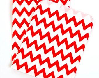 Red Zig Zag Treat Bags