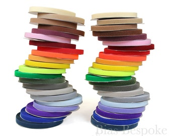 """27 Yard Roll of 1"""" Wide Sew-on Hook and Loop Fastening Tape in 22 Colors"""