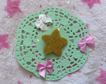 Holographic Star Brooch