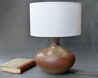 Vintage ceramic - Mid century Ceramic lamp table lamp