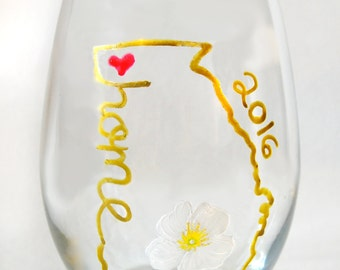 Stemless Wine Glasses Personalized