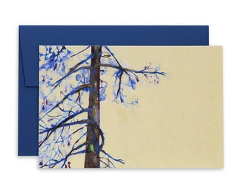 White Pine Card, Tree Of Life, Canadiana, True North, Greeting Cards, Cards, Spring Cards, Cottage Decor, Blossom
