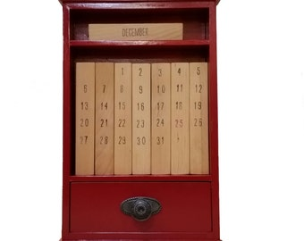10 Block Perpetual Calendar with Cabinet Plans
