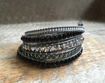 Mia Beaded Wrap Bracelet