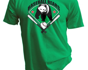 Baseball Bears Tee
