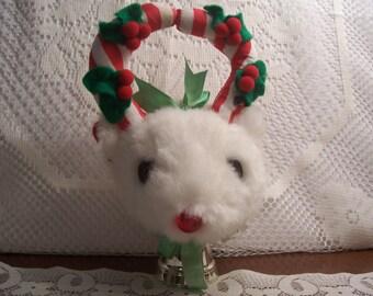 Musical Reindeer Doorknob Hanger