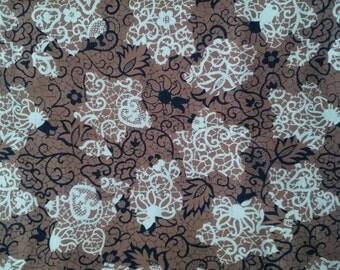 Vintage Rayon Fabric